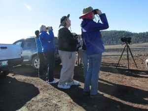 Members of the Klamath Basin Audubon Society visited Gold Dust's Running Y Ranch in preparation for a field trip for the 2016 Winter Wings Festival.