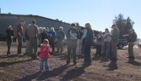 In preparation for a field trip during the 2016 Winter Wings Festival, Gold Dust Potato Processors met with the Klamath Basin Audubon Society at the Running Y Ranch.