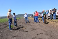 John Walker, Sachin Rawat and Bill Walker talk about their experience growing organic chipping potatoes on the Running Y Ranch outside of Klamath Falls, Oregon.