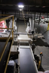 Frontier Metal Detector installed on a production line at Gold Dust Potato Processors' Malin campus.