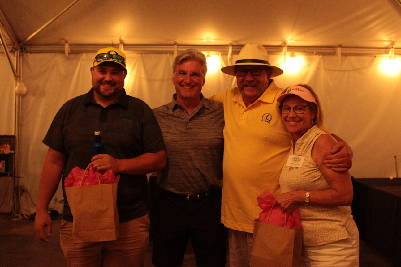 Jared Marshall, Paul Sproule, John Walker and Tammie Staunton were our first place team.