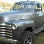1953 Chevrolet 3100 4x4 Gold Eagle Co
