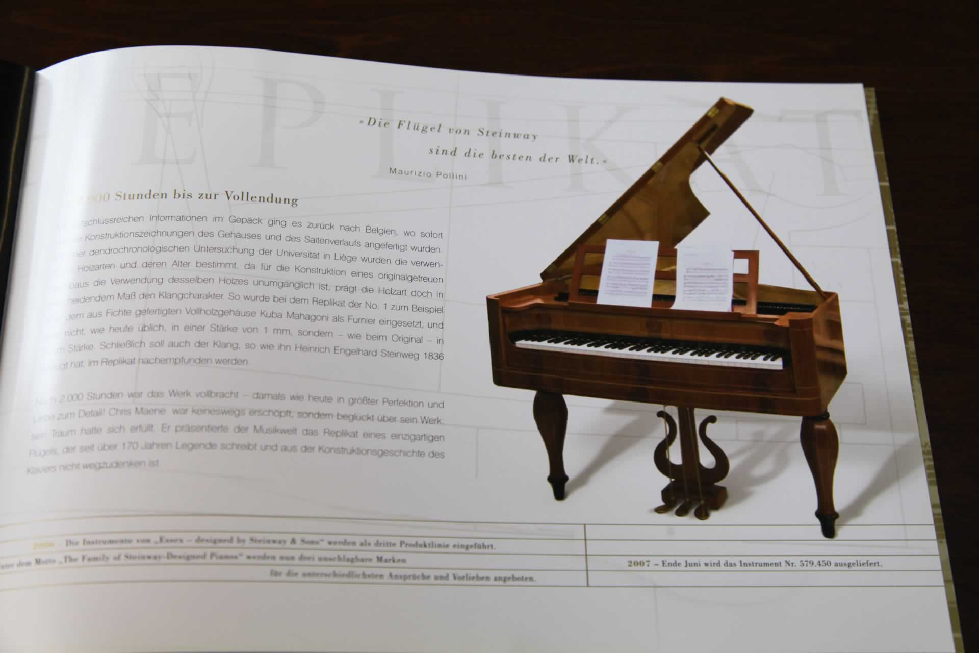 A Steinway Model M Grand Piano For Sale With A Biedermeier Style