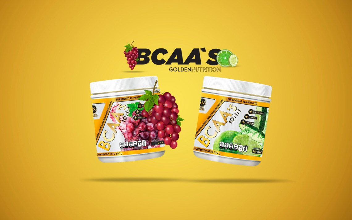 GOLDEN NUTRITION - BCAASS