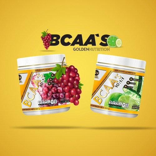GOLDEN NUTRITION - BCAASS