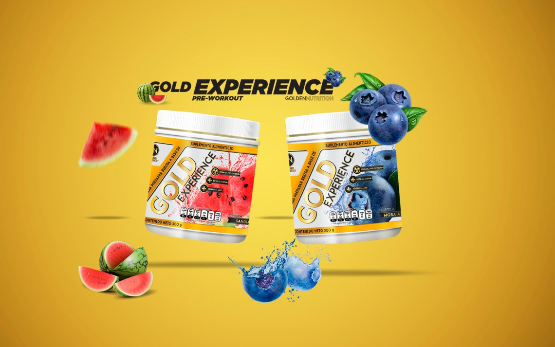 GOLDEN NUTRITION - GOLD EXPERIENCE