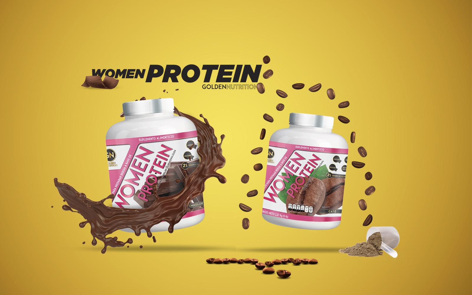 GOLDEN NUTRITION - WOMEN PROTEIN