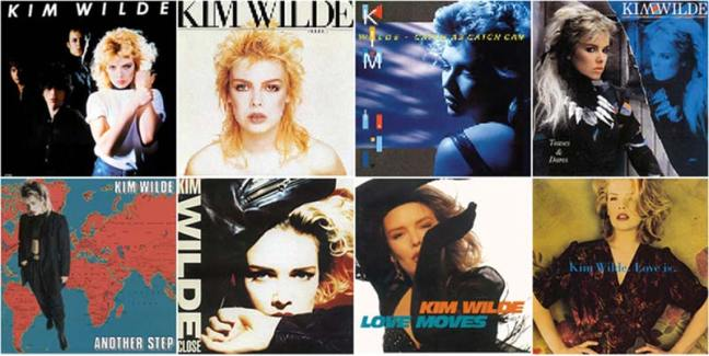 Kim Wilde 80s music Discography