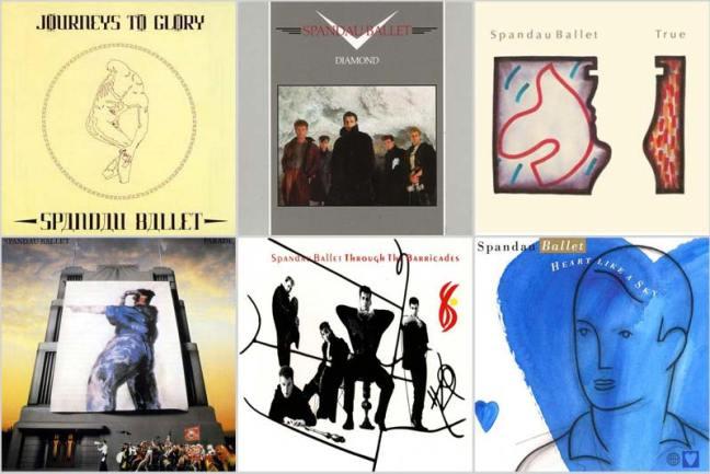 80s Music Spandau Ballet Discography