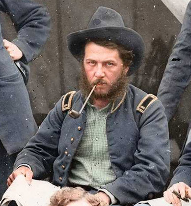 Tough Looking Civil War Soldiers The Golden Assay