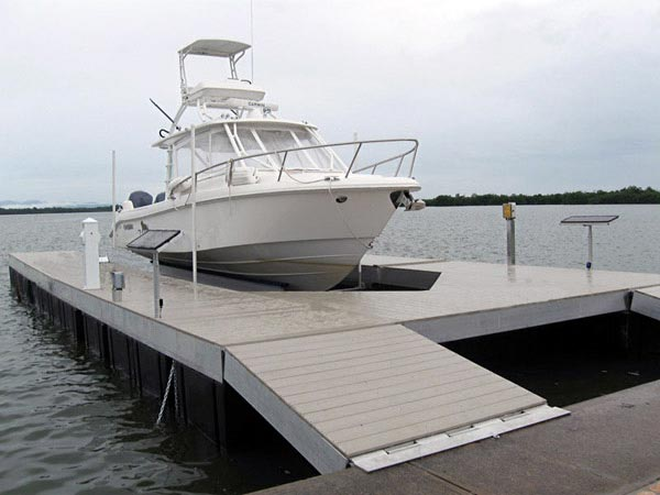 Floating Dock Lifts  Golden Boat Lifts