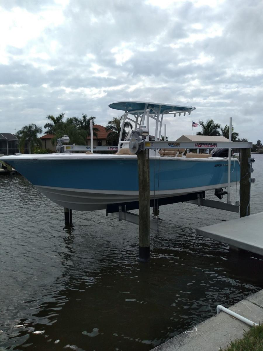 small resolution of aluminum four post boat lifts by golden boat lifts photo gallery