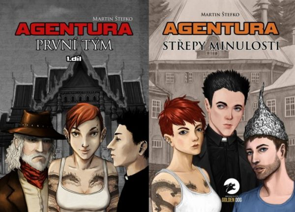 Balíček knih Agentura