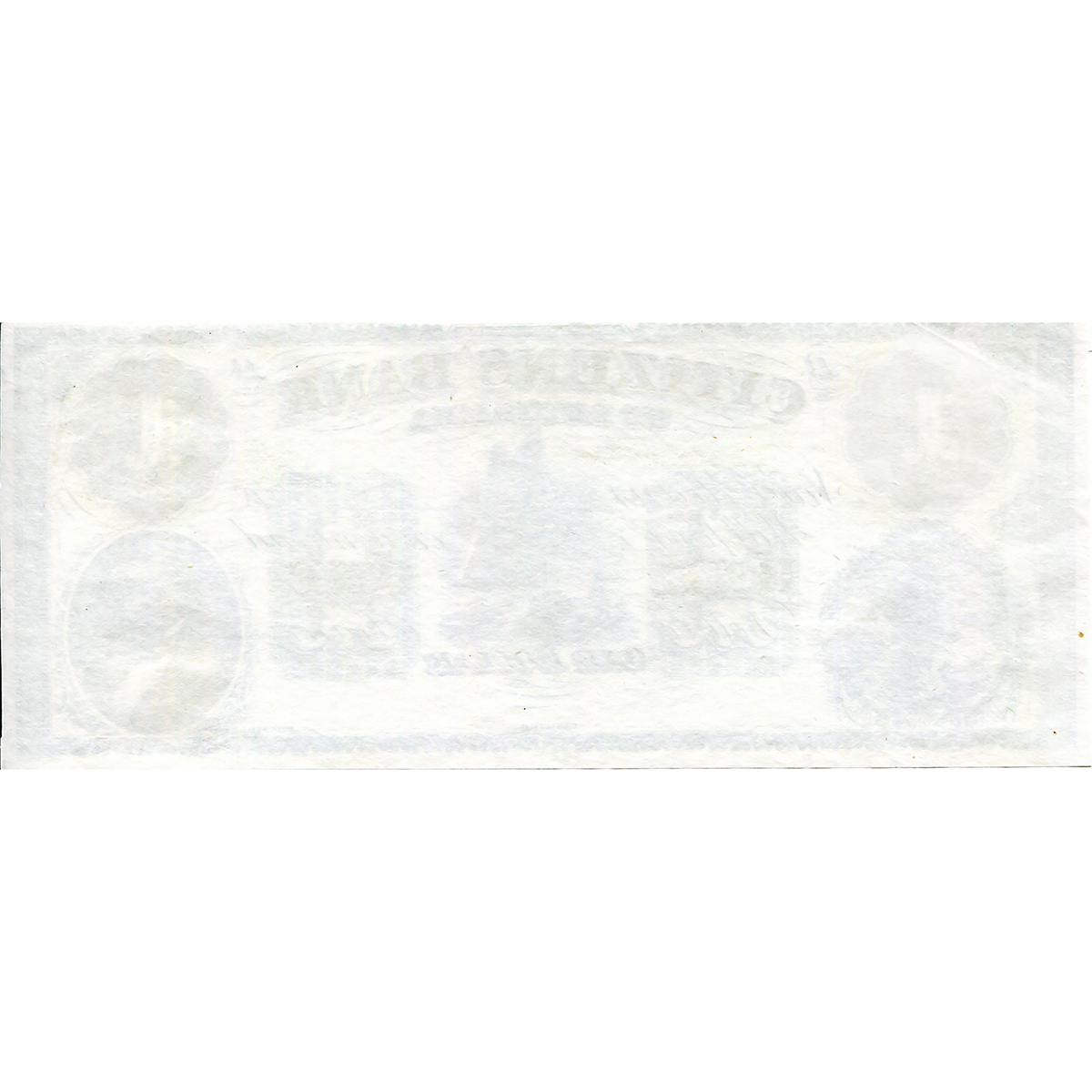 Louisiana New Orleans 1860s $1 Remainder Citizens' Bank of