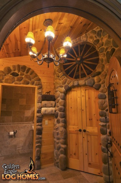 island for kitchen sale lowes flooring golden eagle log homes: home / cabin pictures, photos ...