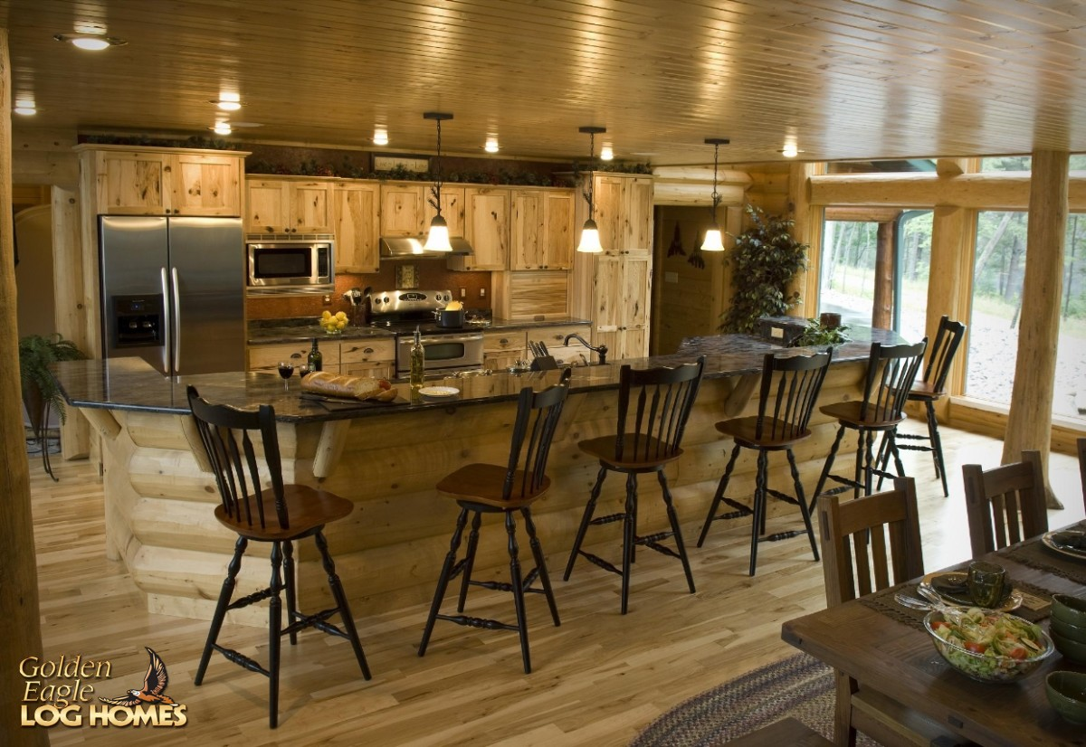 Golden Eagle Log and Timber Homes Log Home  Cabin Pictures Photos Lakehouse 3352AL