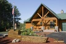 Eagle Prow Log Home Cabin