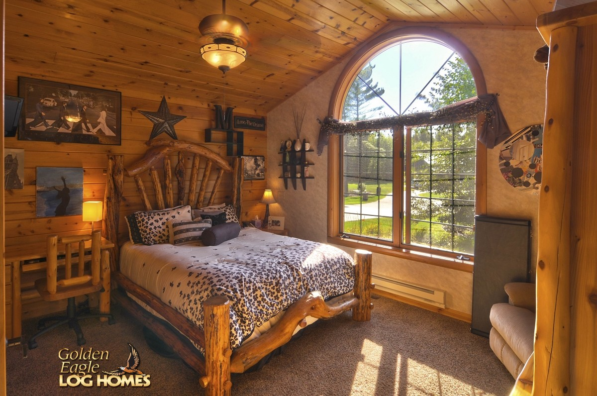 kitchen blinds faucet single handle golden eagle log and timber homes: home / cabin ...