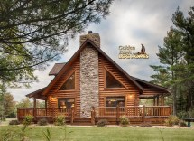 Golden Eagle Log Cabin Homes