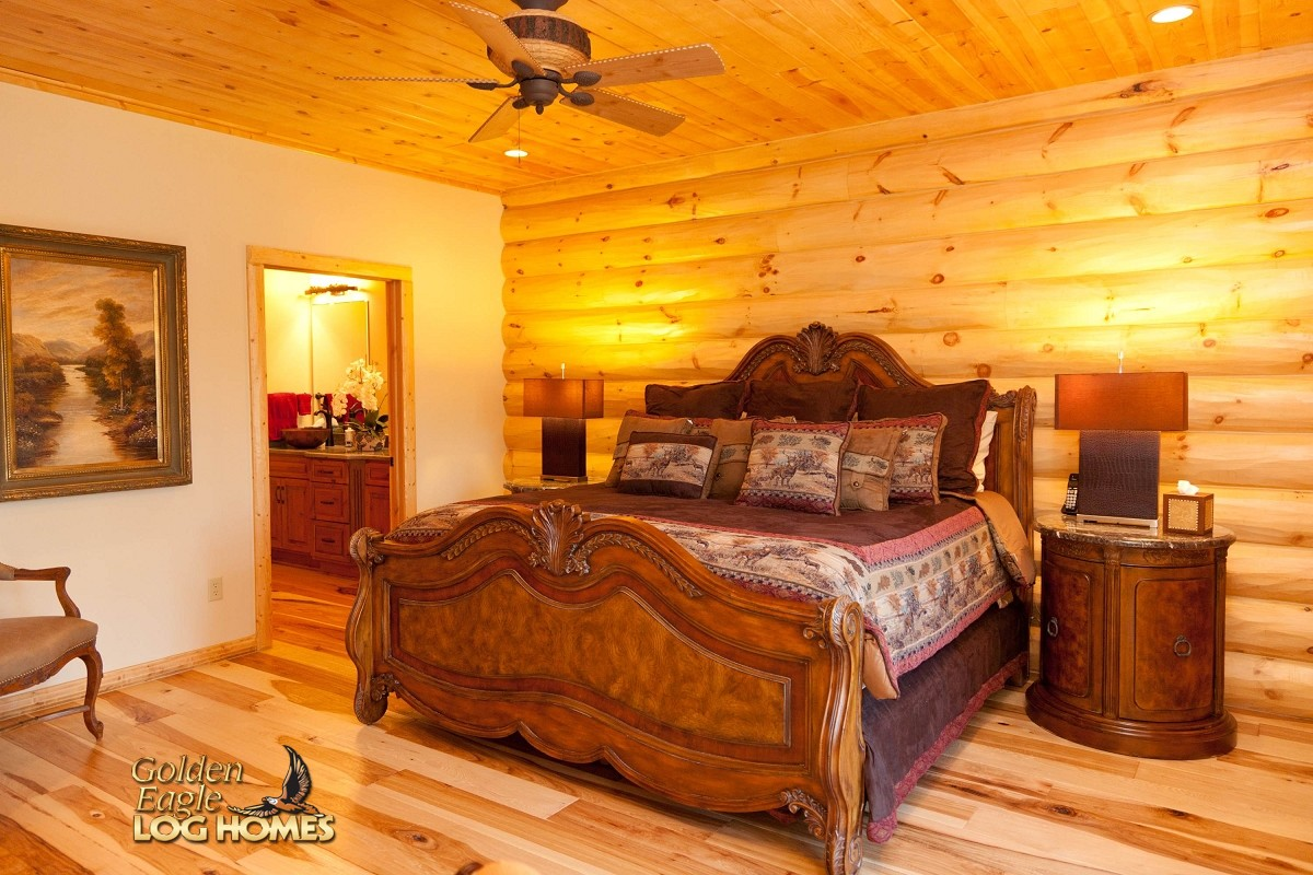 Golden Eagle Log and Timber Homes: Log Home / Cabin
