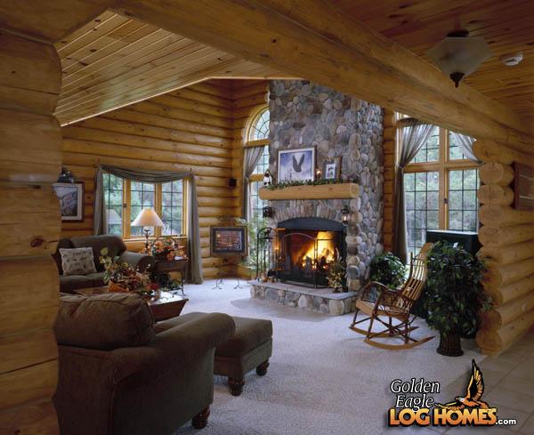 Golden Eagle Log Homes Log Home  Cabin Pictures Photos