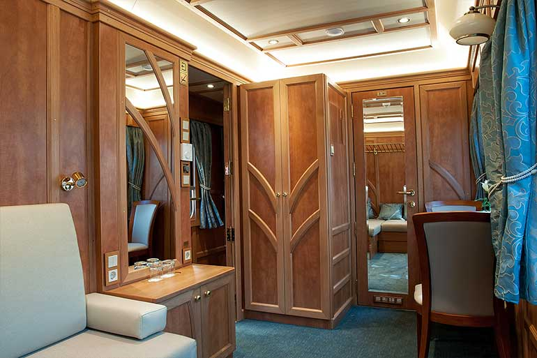 Luxury Rail Accommodation on board the Golden Eagle Danube Express