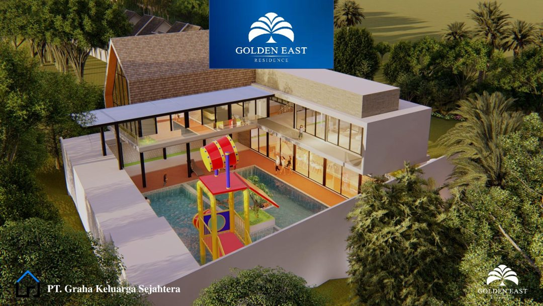 Golden East Residence Menganti Gresik CLUB HOUSE VIEW