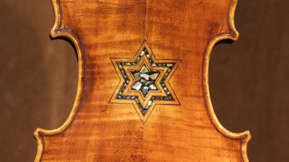 The Bielski Violin - made in Germany around 1870, was featured in one of dozens of Violins of Hope events