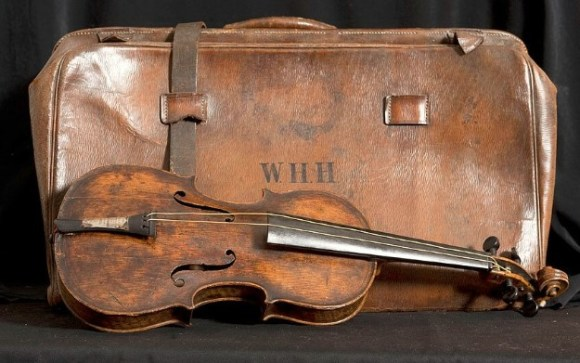 The violin saved from the Titanic....