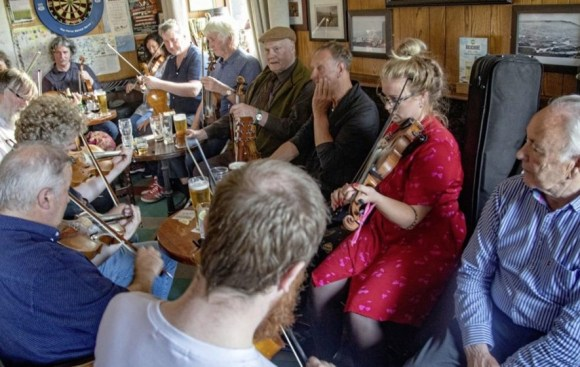 Fiddle players from all over the world attended last year's Donegal Fiddle Week.