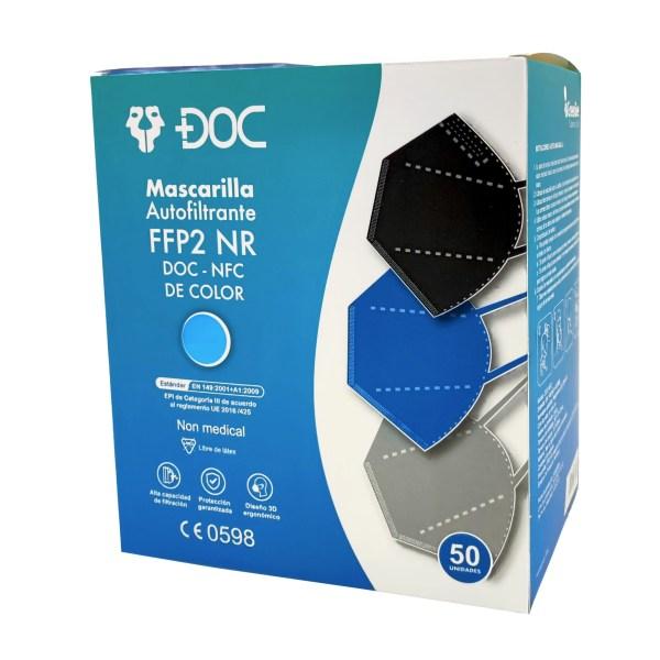 FFP2 DOC de Colores (50 unid.)