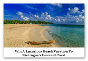 Go Places: Emerald Coast, Nicaragua (win a trip for two)