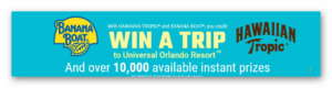 Banana Boat Sun Fun Done Instant Win Sweepstakes