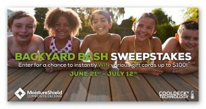 Backyard Bash Sweepstakes