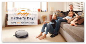 ILIFE A4s Robot Vacuum Cleaner Giveaway