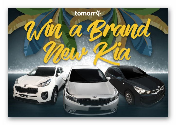 Win a Brand New Kia