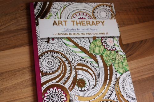 Win an Art Therapy Adult Colouring Book