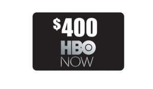 Win a $400 HBO Now Gift Card