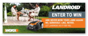 Landroid Robotic Mower Sweepstakes