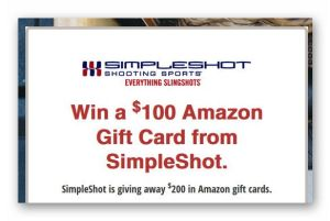 Win a $100 Amazon Gift Card from SimpleShot