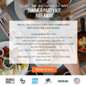 Summer Party Kit Giveaway