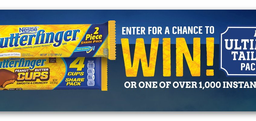 Butterfinger Ultimate Tailgate Instant Win Giveaway