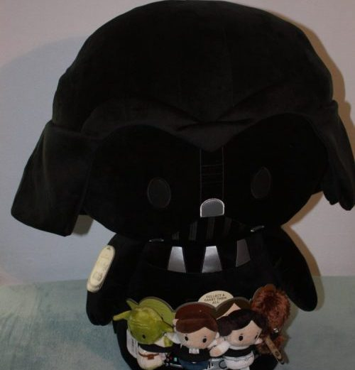 Win a Jumbo Sized Limited Edition Darth Vader & other Star Wars Characters