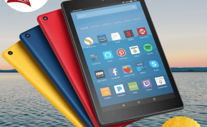 Win the All-New Fire HD 8 Tablet with Alexa