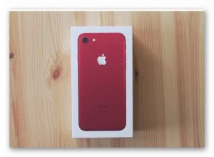 Win an iPhone 7 Red