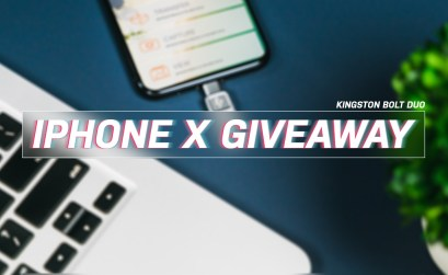 Win an iPhone X from Kingston and TechnoBuffalo