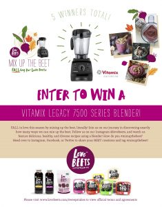 Love Beets – Mix Up The Beet Sweepstakes