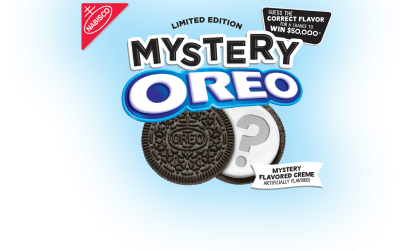 Oreo Mystery Flavor Cash Giveaway