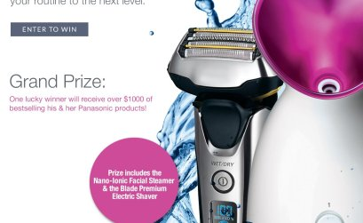 Get Primped, Prepped, and Primed with Panasonic Giveaway
