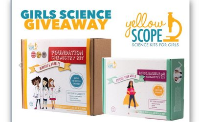 Girls Science Giveaway